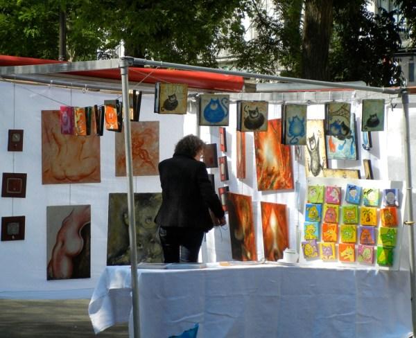Bastille Arts And Crafts Market Paris