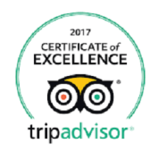 Trip Advisor Badge 2017
