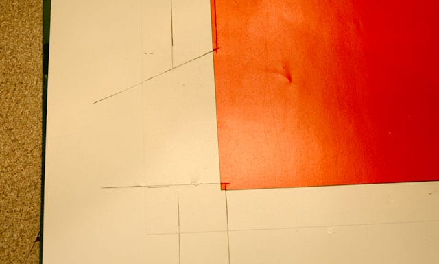 trim glue flaps