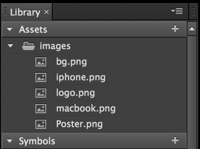 03-edge-animate-library-assets-panel