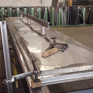 Stainless Steel Kitchen Drain Pan - Mark Metals