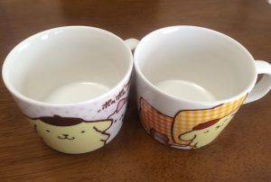 ポムポムプリンのマグカップ