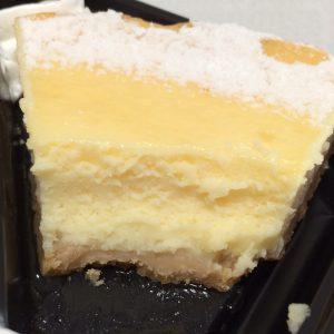 NYチーズケーキ断面