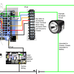 Accessory Relay Wiring Diagram 1999 Ford F250 Trailer Bus Fuse Box Popular Buy Cheap Lots From