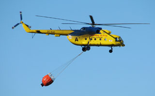 Chopper in the sky