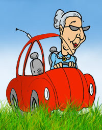 Granny can't drive