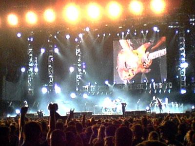 Metallica Colab Concert Cape Town
