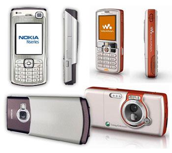 Nokia N70 vs Sony Ericsson W800i