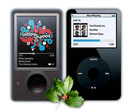 Apple iPod vs Microsoft Zune