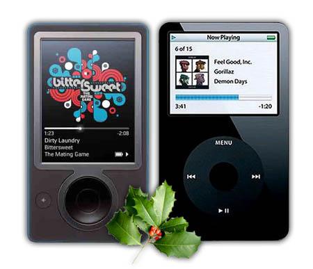 Apple iPod vs Microsoft Zune