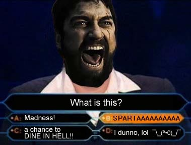 Angry Sparta 300
