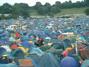 Glastonbury Camp Site