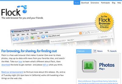 Old Flock Website
