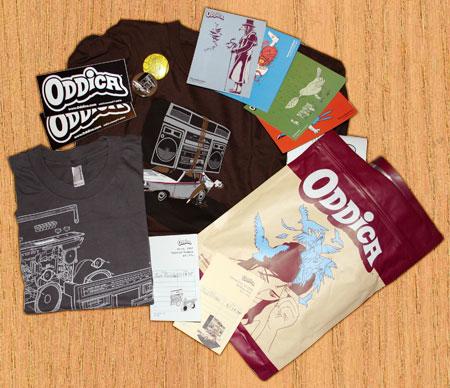 Oddica T-shirts
