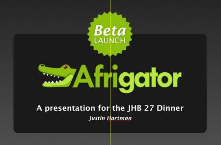 Afrigator Beta