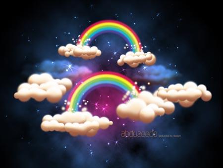 Creating a fantastic fantasy night sky in photoshop