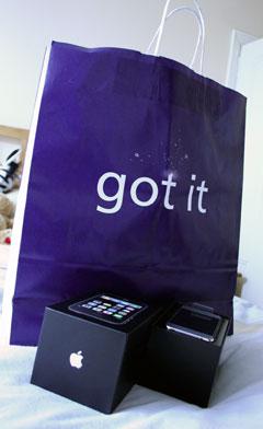 Got it - The iPhone 3G