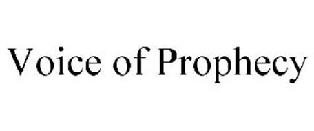 VOICE OF PROPHECY Trademark of Adventist Media Productions