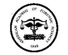 AMERICAN ACADEMY OF FORENSIC SCIENCES 1948 IX XI Trademark