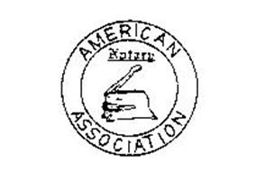 AMERICAN NOTARY ASSOCIATION Trademark of American Notary
