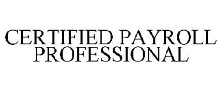 CERTIFIED PAYROLL PROFESSIONAL Trademark of AMERICAN
