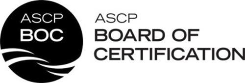 ASCP BOC ASCP BOARD OF CERTIFICATION Trademark of American