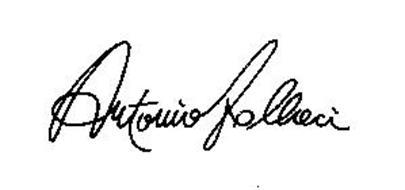 ANTONIO FALLACI Trademark of ANTONIO FALLACI Serial Number