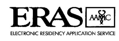 ERAS AAMC ELECTRONIC RESIDENCY APPLICATION SERVICE