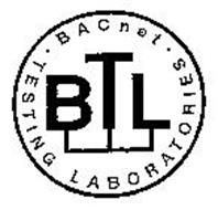 BTL BACNET TESTING LABORATORIES Trademark of BACNET