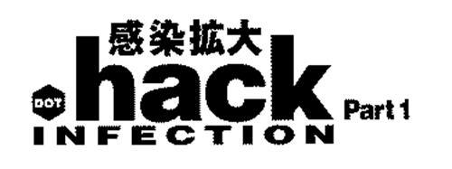 DOT HACK INFECTION PART 1 Trademark of BANDAI NAMCO