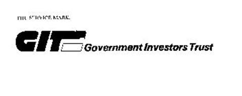 GIT GOVERNMENT INVESTORS TRUST Trademark of BANKERS