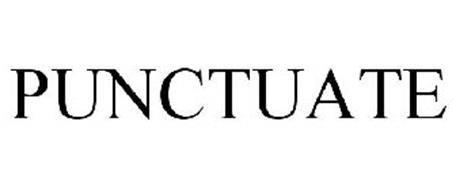 PUNCTUATE Trademark of BARNES & NOBLE BOOKSELLERS, INC