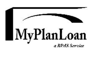 MYPLANLOAN A BPAS SERVICE Trademark of Benefit Plans