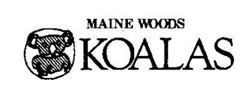 MAINE WOODS KOALAS Trademark of BENNETT INDUSTRIES, INC
