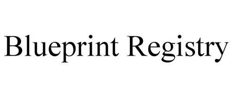 BLUEPRINT REGISTRY Trademark of BLUEPRINT REGISTRY LLC