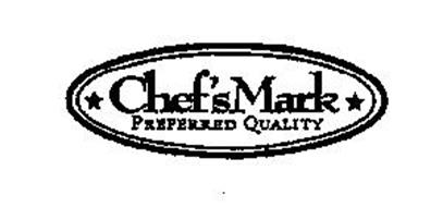 CHEF'S MARK PREFERRED QUALITY Trademark of BLUESTEM BRANDS