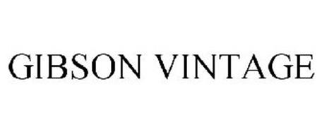 GIBSON VINTAGE Trademark of BMB Clothing Limited Serial
