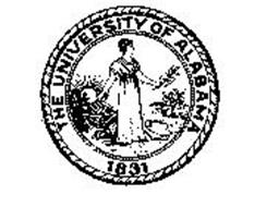 THE UNIVERSITY OF ALABAMA 1831 Trademark of BOARD OF