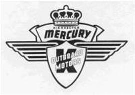 KIEKHAEFER MERCURY K OUTBOARD MOTORS Trademark of
