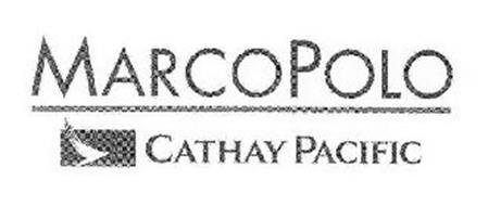 MARCO POLO CATHAY PACIFIC Trademark of Cathay Pacific