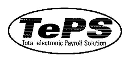 TEPS TOTAL ELECTRONIC PAYROLL SOLUTIONS Trademark of CBS