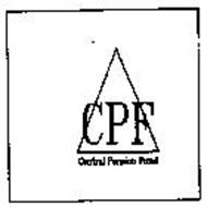 CPF CENTRAL PENSION FUND Trademark of CENTRAL PENSION FUND