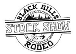 BLACK HILLS STOCK SHOW & RODEO Trademark of Central States