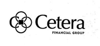 C CETERA FINANCIAL GROUP Trademark of Cetera Financial