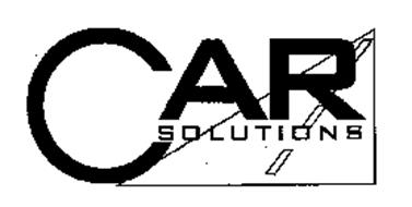CAR SOLUTIONS Trademark of CFS Financial Services, Inc