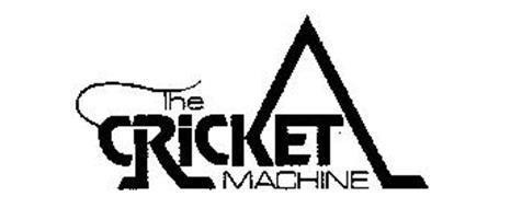 THE CRICKET MACHINE Trademark of CLYDE PEELING'S REPTILAND