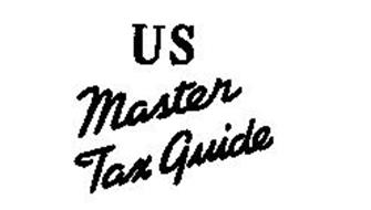 U S MASTER TAX GUIDE Trademark of Commerce Clearing House