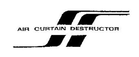 AIR CURTAIN DESTRUCTOR Trademark of CONCEPT PRODUCTS
