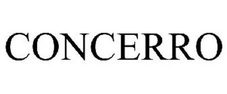 CONCERRO Trademark of CONCERRO, INC.. Serial Number
