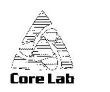 CORE LAB Trademark of CORE LABORATORIES LUXEMBOURG S.A.R.L